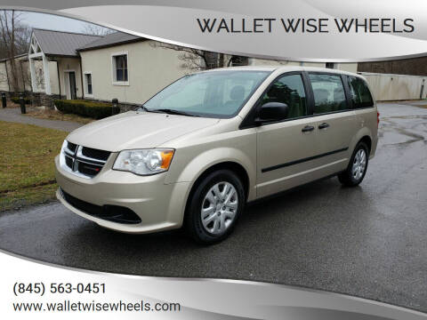 2013 Dodge Grand Caravan for sale at Wallet Wise Wheels in Montgomery NY