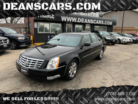 2007 Cadillac DTS for sale at DEANSCARS.COM in Bridgeview IL