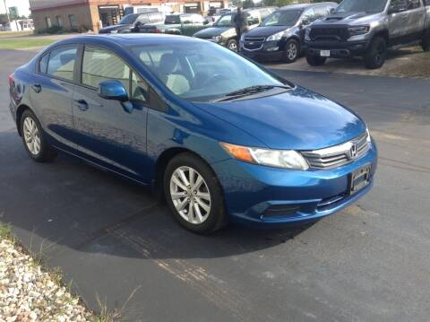 2012 Honda Civic for sale at Bruns & Sons Auto in Plover WI