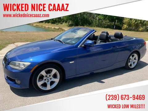 2011 BMW 3 Series for sale at WICKED NICE CAAAZ in Cape Coral FL