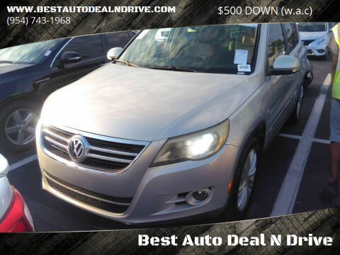 2010 Volkswagen Tiguan for sale at Best Auto Deal N Drive in Hollywood FL