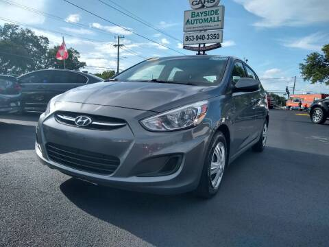 2017 Hyundai Accent for sale at BAYSIDE AUTOMALL in Lakeland FL