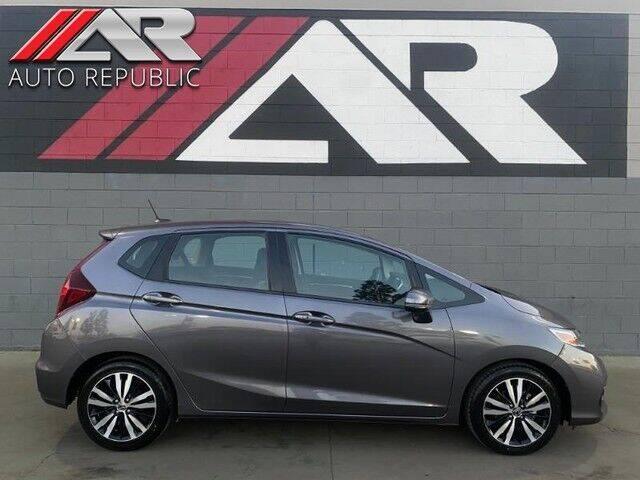 2018 Honda Fit for sale at Auto Republic Fullerton in Fullerton CA