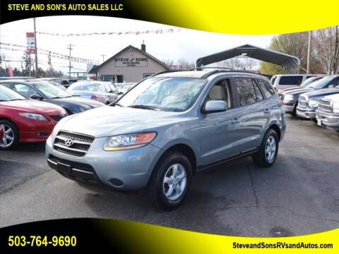 2008 Hyundai Santa Fe for sale at Steve & Sons Auto Sales in Happy Valley OR