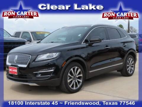 2019 Lincoln MKC for sale at Ron Carter  Clear Lake Used Cars in Houston TX