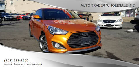 2013 Hyundai Veloster for sale at Auto Trader Wholesale Inc in Saddle Brook NJ