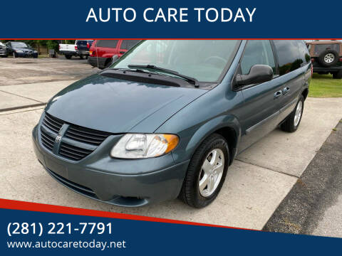 2006 Dodge Caravan for sale at AUTO CARE TODAY in Spring TX