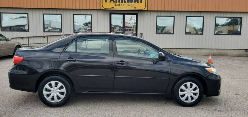 2011 Toyota Corolla for sale at Parkway Motors in Springfield IL