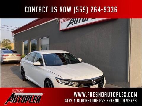 2019 Honda Accord for sale at Fresno Autoplex in Fresno CA