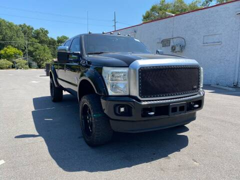 2016 Ford F-250 Super Duty for sale at LUXURY AUTO MALL in Tampa FL
