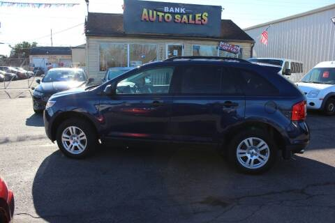 2012 Ford Edge for sale at BANK AUTO SALES in Wayne MI