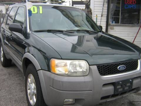 2001 Ford Escape for sale at JERRY'S AUTO SALES in Staten Island NY
