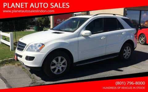2007 Mercedes-Benz M-Class for sale at PLANET AUTO SALES in Lindon UT