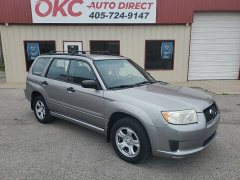 2007 Subaru Forester for sale at OKC Auto Direct, LLC in Oklahoma City OK