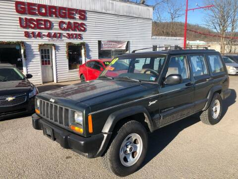 1998 Jeep Cherokee for sale at George's Used Cars Inc in Orbisonia PA