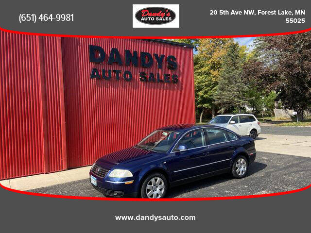 2005 Volkswagen Passat for sale at Dandy's Auto Sales in Forest Lake MN