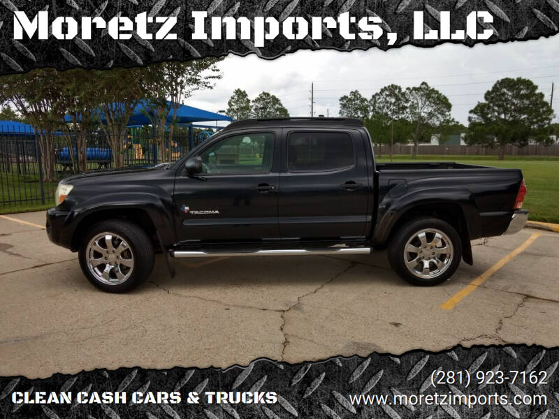 2007 Toyota Tacoma for sale at Moretz Imports, LLC in Spring TX