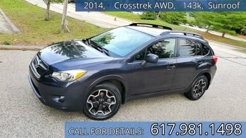2014 Subaru XV Crosstrek for sale at Wheeler Dealer Inc. in Acton MA
