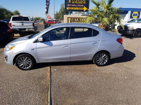 2017 Mitsubishi Mirage G4 for sale at 1ST AUTO & MARINE in Apache Junction AZ