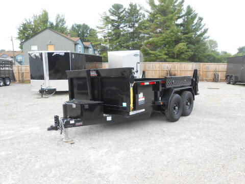 """2021 Forest River Force Dump Trailer 6'8""""x12' for sale at Jerry Moody Auto Mart - Trailers in Jeffersontown KY"""