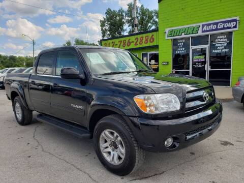 2006 Toyota Tundra for sale at Empire Auto Group in Indianapolis IN