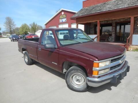 1998 Chevrolet C/K 1500 Series for sale at Boyett Sales & Service in Holton KS