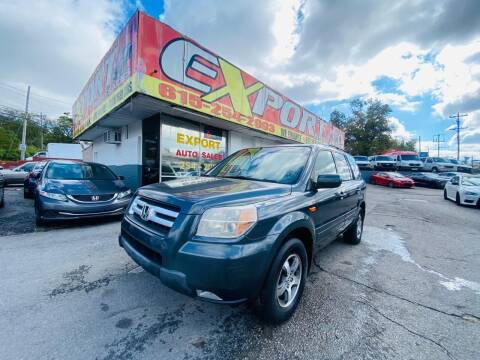 2006 Honda Pilot for sale at EXPORT AUTO SALES, INC. in Nashville TN