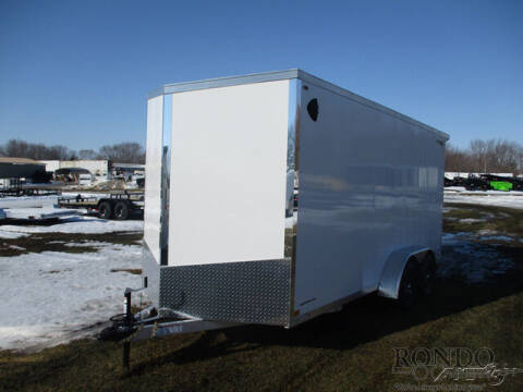 2021 Legend Enclosed Cargo 7X18EVTA35 for sale at Rondo Truck & Trailer in Sycamore IL