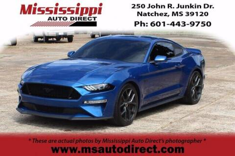 2018 Ford Mustang for sale at Auto Group South - Mississippi Auto Direct in Natchez MS