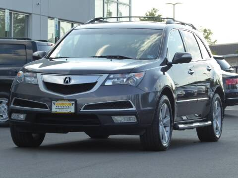 2010 Acura MDX for sale at Loudoun Used Cars - LOUDOUN MOTOR CARS in Chantilly VA