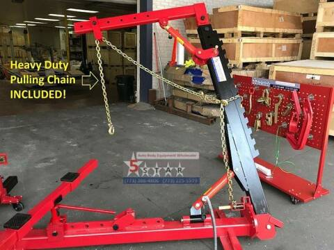 2020 2 Clamp Portable Puller  Frame Straightener w Roof  for sale at Kamran Auto Exchange Inc in Kenosha WI