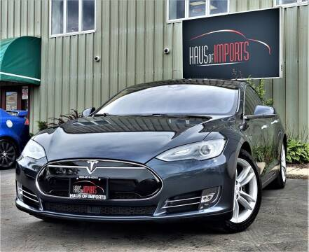 2014 Tesla Model S for sale at Haus of Imports in Lemont IL