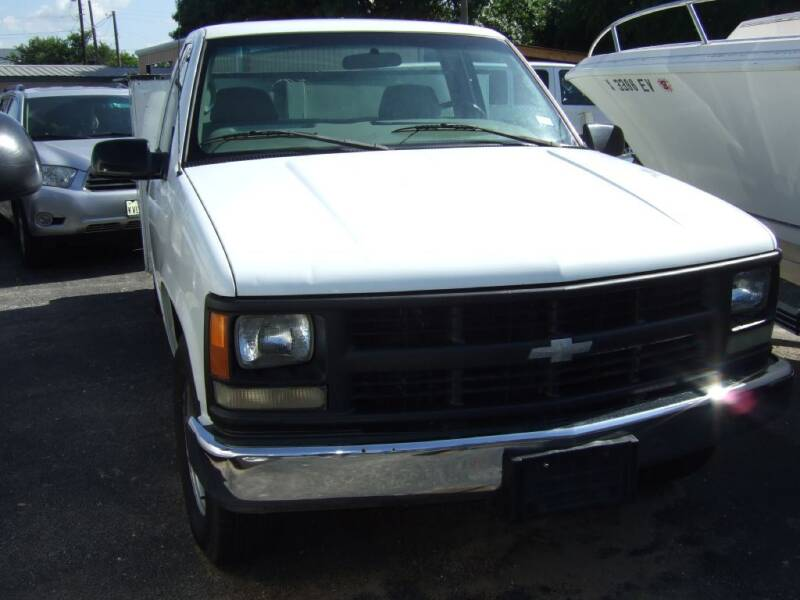 1999 Chevrolet C/K 3500 Series for sale at C&R  MOTORS in San Antonio TX