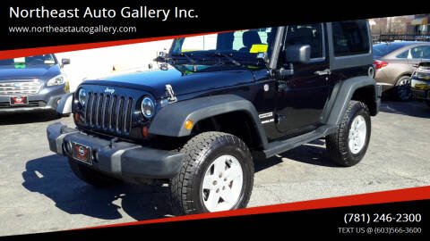 2013 Jeep Wrangler for sale at Northeast Auto Gallery Inc. in Wakefield Ma MA