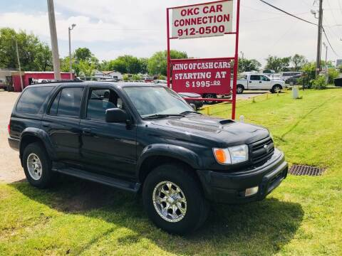 2000 Toyota 4Runner for sale at OKC CAR CONNECTION in Oklahoma City OK