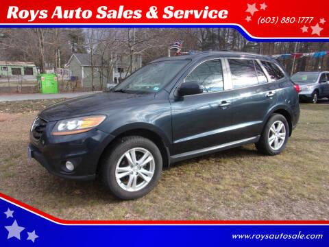 2011 Hyundai Santa Fe for sale at Roys Auto Sales & Service in Hudson NH