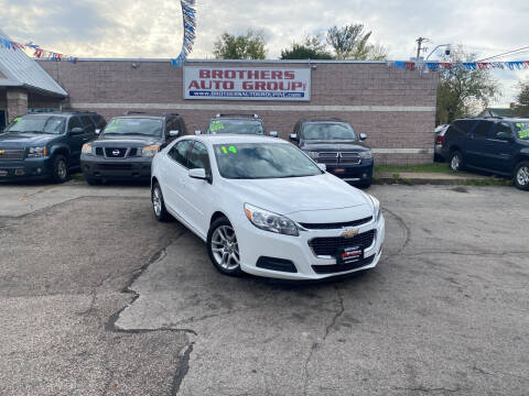 2014 Chevrolet Malibu for sale at Brothers Auto Group in Youngstown OH