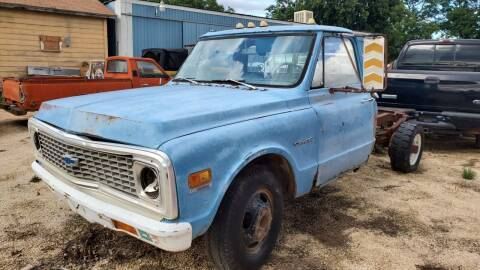 1971 Chevrolet C/K 30 Series for sale at CLASSIC MOTOR SPORTS in Winters TX