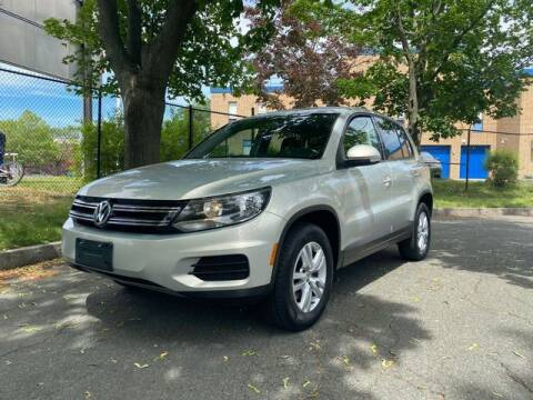 2013 Volkswagen Tiguan for sale at NEW ENGLAND AUTO MALL in Lowell MA
