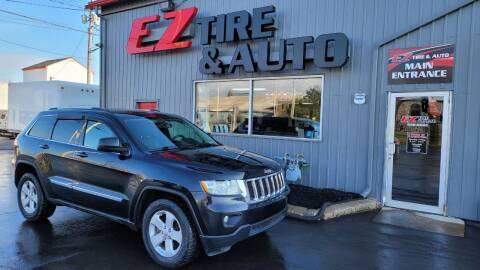 2012 Jeep Grand Cherokee for sale at EZ Tire & Auto in North Tonawanda NY
