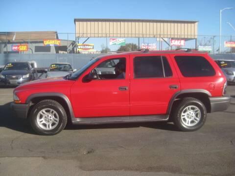 2003 Dodge Durango for sale at Town and Country Motors - 1702 East Van Buren Street in Phoenix AZ