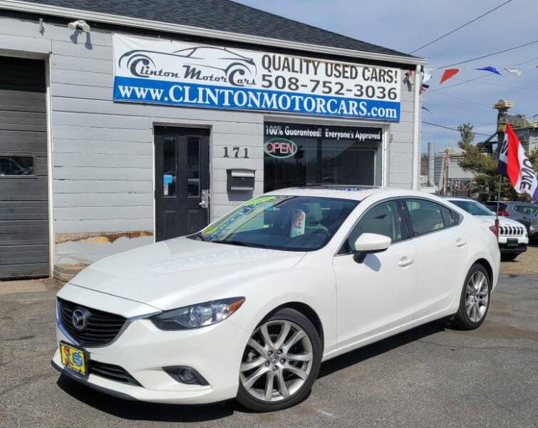 2014 Mazda MAZDA6 for sale at Clinton MotorCars in Shrewsbury MA