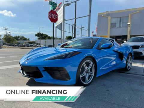 2021 Chevrolet Corvette for sale at Global Auto Sales USA in Miami FL
