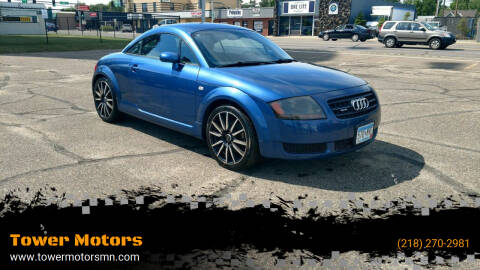 2003 Audi TT for sale at Tower Motors in Brainerd MN