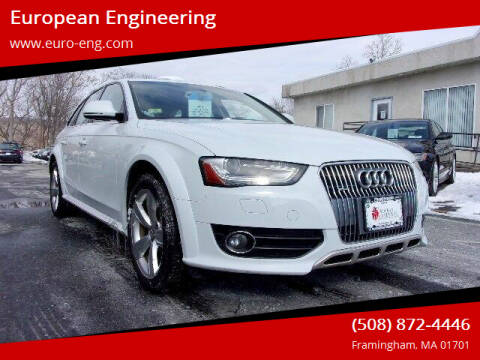 2013 Audi Allroad for sale at European Engineering in Framingham MA