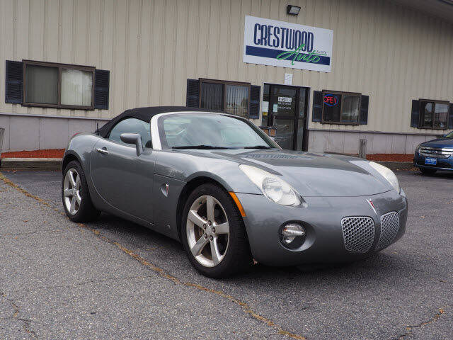 2006 Pontiac Solstice for sale at Crestwood Auto Sales in Swansea MA