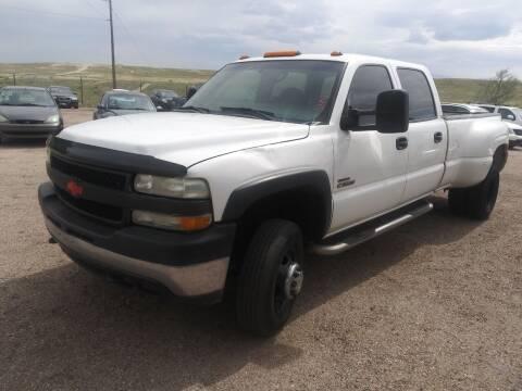 2002 Chevrolet Silverado 3500 for sale at PYRAMID MOTORS - Pueblo Lot in Pueblo CO