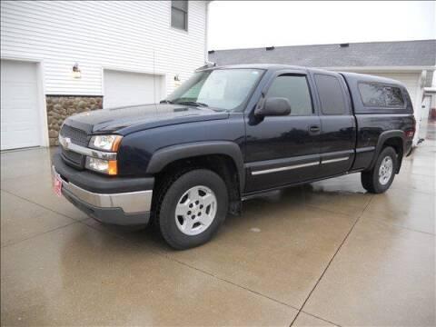 2005 Chevrolet Silverado 1500 for sale at OLSON AUTO EXCHANGE LLC in Stoughton WI