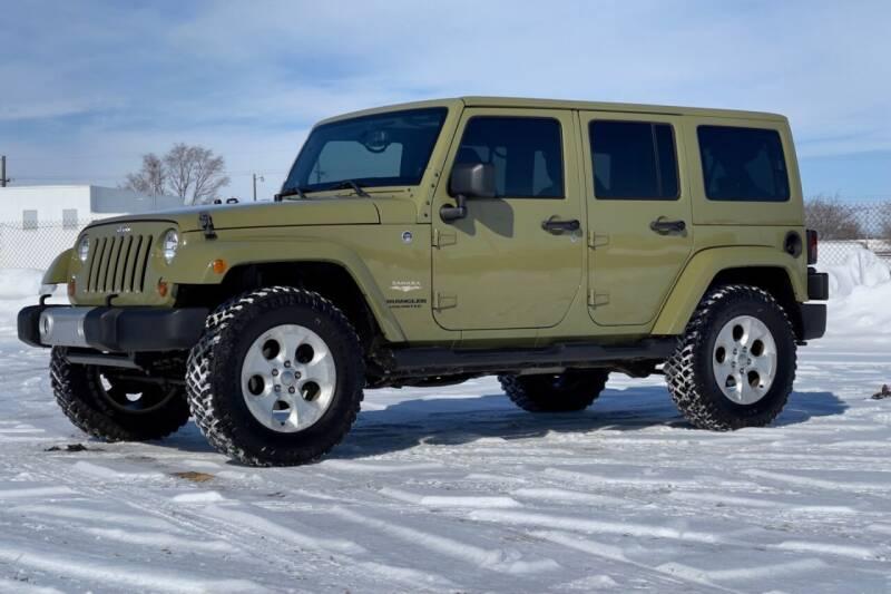 2013 Jeep Wrangler Unlimited for sale at Island Auto Off-Road & Sport in Grand Island NE