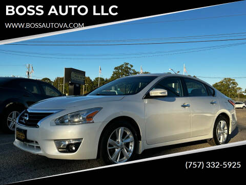 2014 Nissan Altima for sale at BOSS AUTO LLC in Norfolk VA